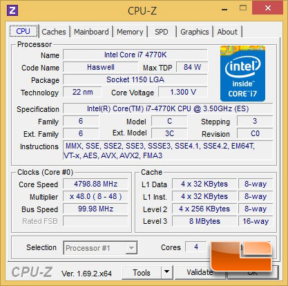 GIGABYTE Z97X-SOC Force Intel Core i7 4770K 4800MHz
