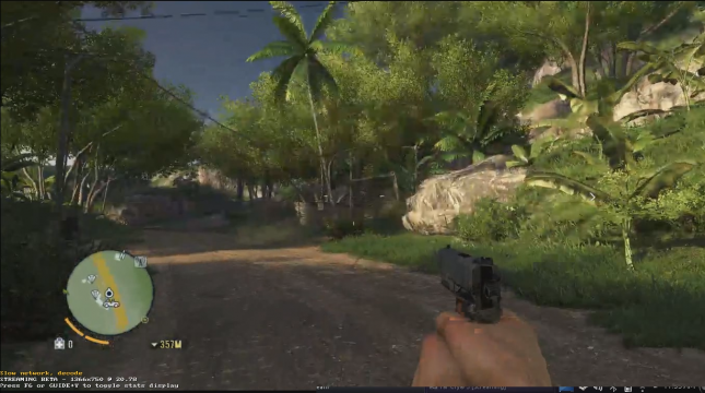 FarCry 3 with wireless Host and Client