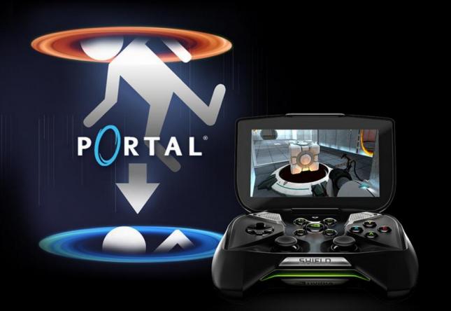Portal on NVIDIA SHIELD