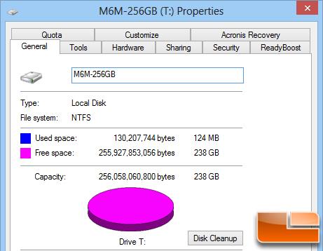 Plextor M6M Properties
