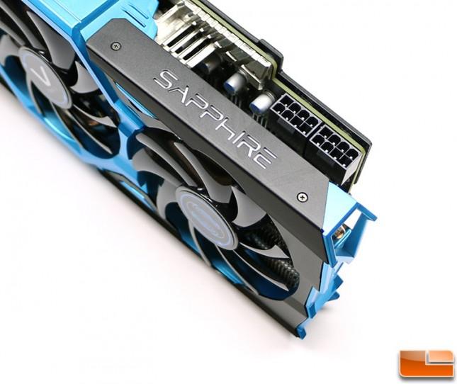 Sapphire R9 290X Vapor-X OC PCIe Power Connectors