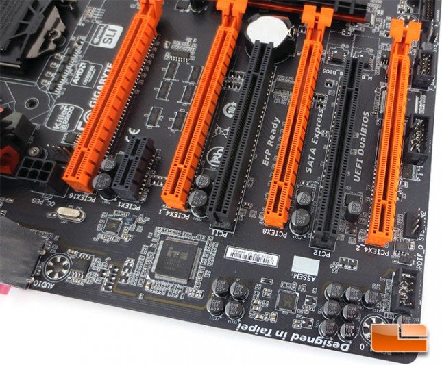GIGABYTE Z97X-SOC Force Overclocking Motherboard Layout