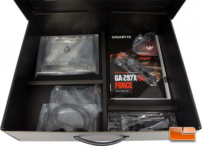 GIGABYTE Z97X-SOC Force Overclocking Motherboard Retail Packaging