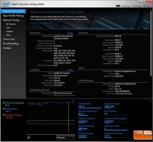 Pentium G3258 Load Temp