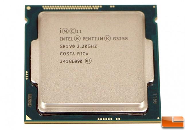 Intel Pentium G3258 Processor