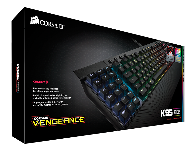 Corsair Launches K70 Rgb And K95 Rgb Keyboards Along With