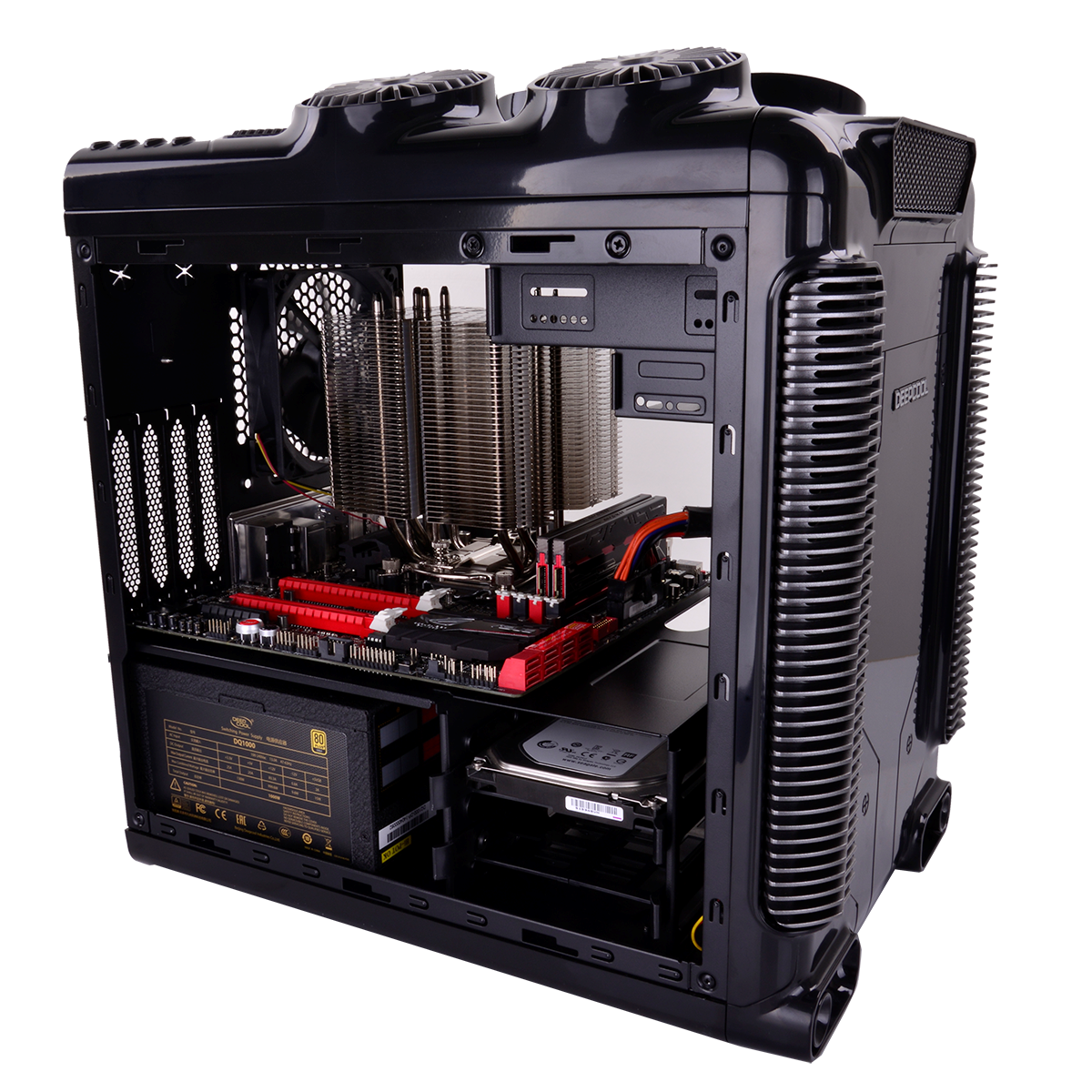 Deepcool Releases Steam Castle Matx Steam Punk Themed Case