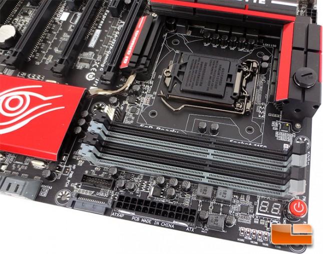 GIGABYTE Z97X-Gaming G1 WiFi-BK Motherboard DIMM Slots