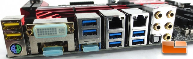 GIGABYTE Z97X-Gaming G1 WiFi-BK Motherboard I/O panel