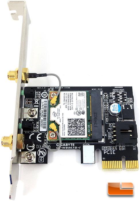 GIGABYTE Z97X-Gaming G1 WiFi-BK Intel Wireless AC Card