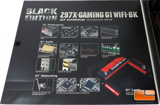 GIGABYTE Z97X-Gaming G1 WiFi-BK Retail Packaging
