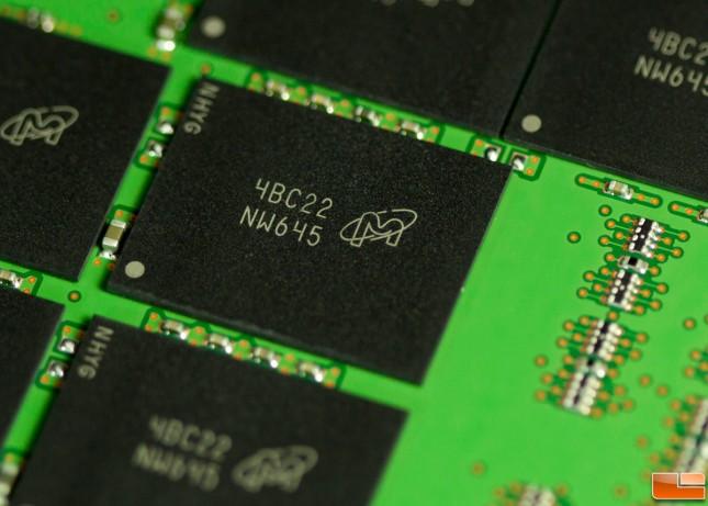 Crucial MX100 256GB NAND