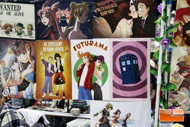 Anime Expo 2014 Artist Alley