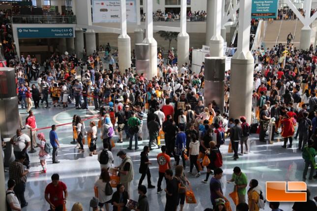 Anime Expo 2014 Exhibit Hall