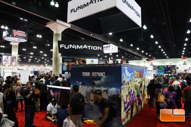 Anime Expo 2014 Exhibit Hall