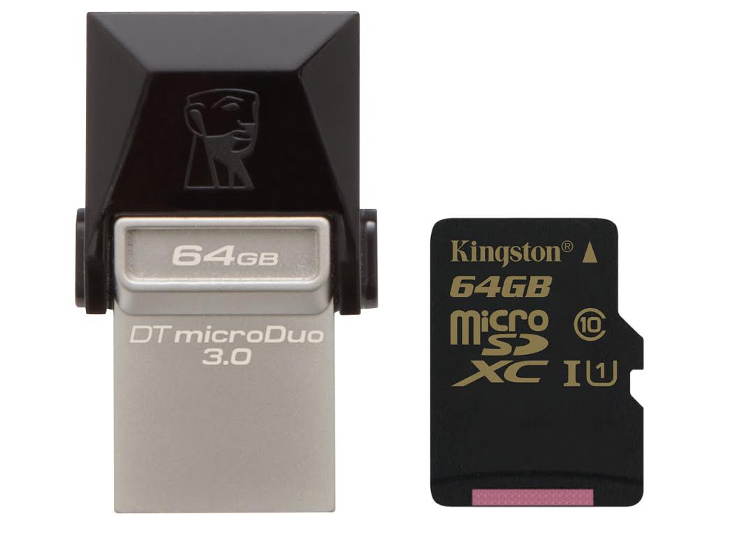 Kingston Announces Datatraveler Microduo 3 0 Otg Flash