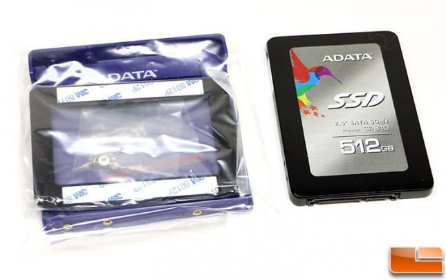 ADATA SP610 512GB SSD Bundle