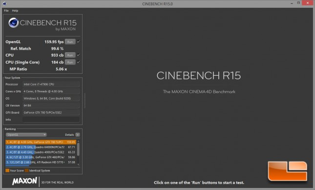 Digital Storm Bolt 2 Cinebench All