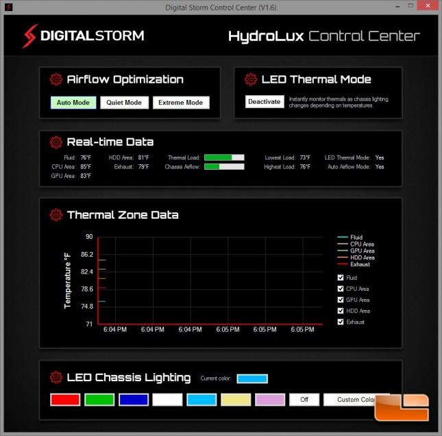 Digital Storm Control Center