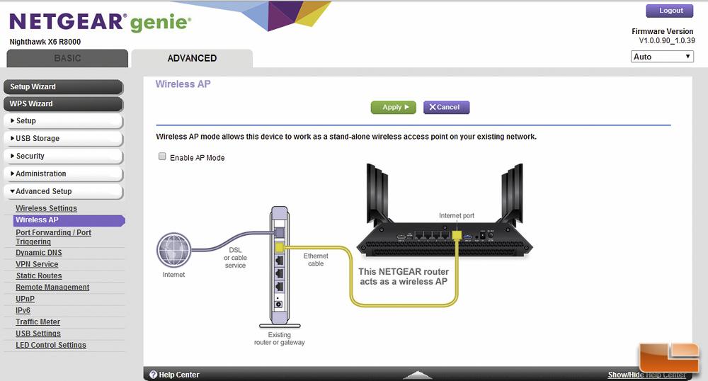 Netgear R8000 Nighthawk X6 AC 3200 Tri-Band WiFi Router