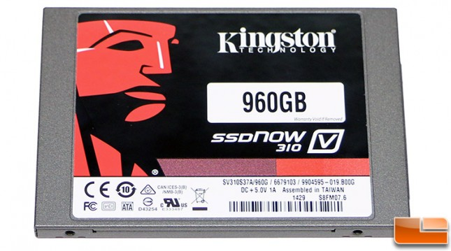 Kingston SSDNow V310 960GB SV310S3N7A/960G