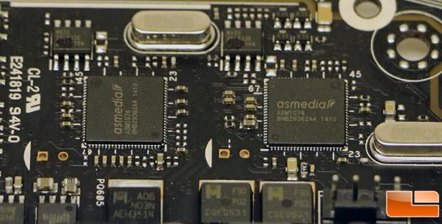 ASUS X99-Deluxe ASMedia ASM1074