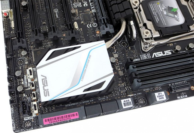 ASUS X99-Deluxe Motherboard Layout