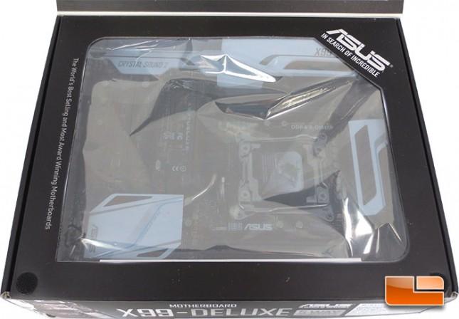 ASUS X99 Deluxe Intel X99 Motherboard Retail Packaging