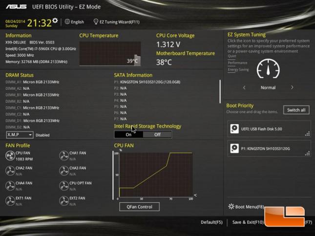 ASUS X99-Deluxe UEFI BIOS