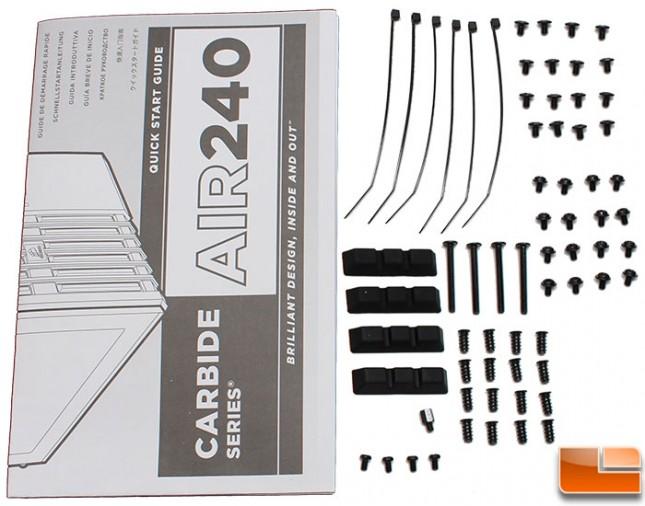 Corsair-Air-240-Packaging-Accessories