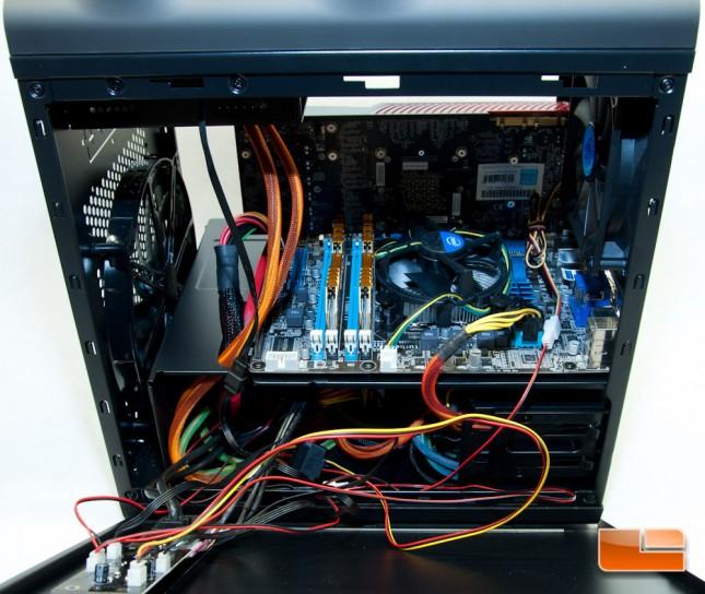 Deepcool Steam Castle Side Panel Wires