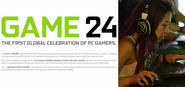 NVIDIA GAME 24