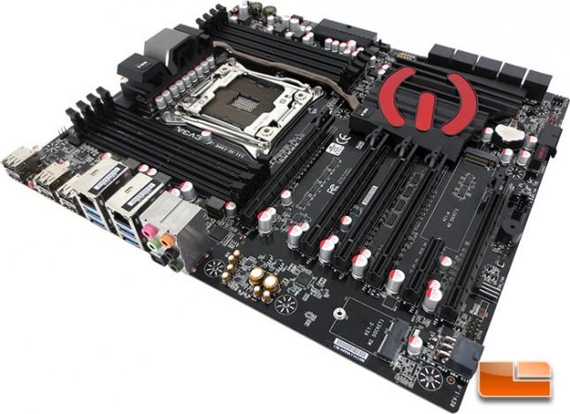EVGA X99 Classified Intel X99 Motherboard Layout