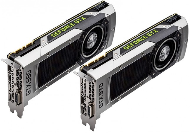 GeForce GTX 980 and GTX 970