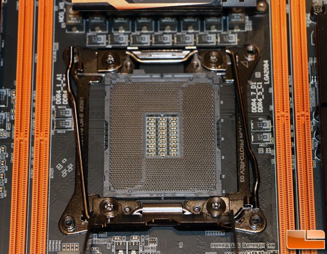 Gigabyte GA-X99-SOC Force LN2 Motherboard Special Socket