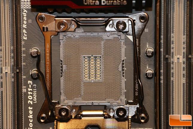 Gigabyte X99 Normal Motherboard Socket