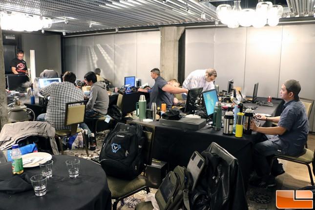 Gigabyte LN2 Overclocking Event 2014