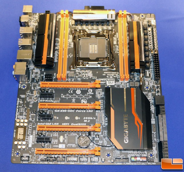 Gigabyte GA-X99-SOC Force LN2 Motherboard