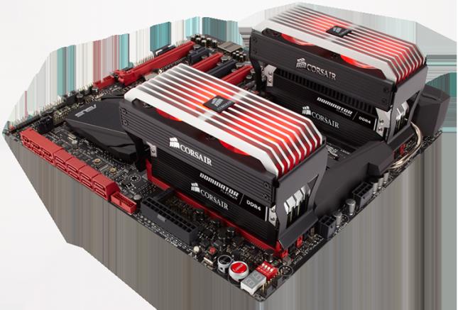 Corsair Dominator Platinum DDR4 modules
