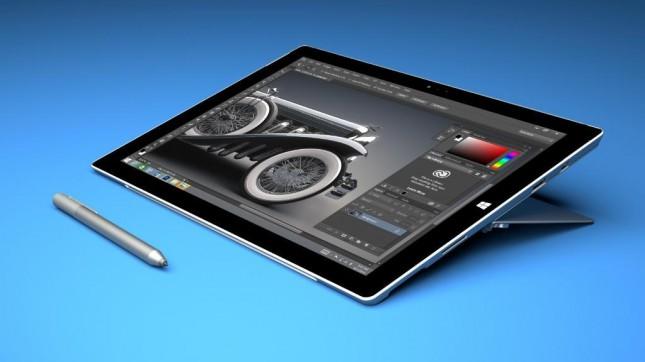 Surface Pro 3 w/ Adobe