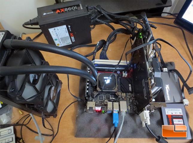 ASUS Maximus VII Impact Intel Z97 Test System
