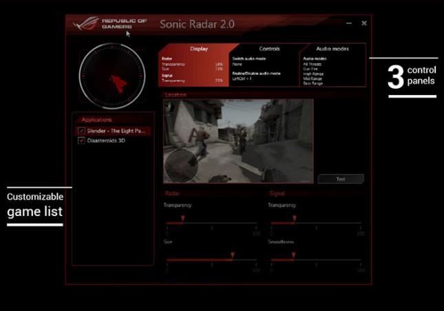 ASUS Sonic Radar