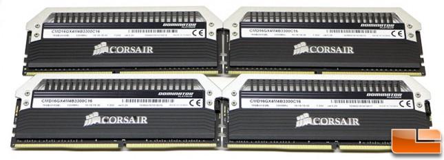 Corsair Dominator Platinum 3300MHz
