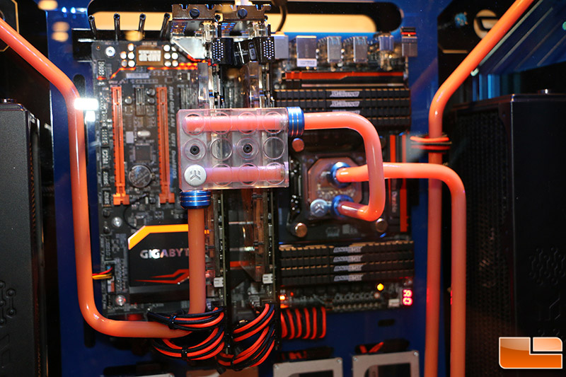 Crucial Orange Dreamsicle Pc Case Mod Up Close And