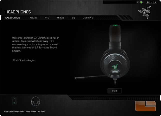 Razer Kraken 7 1 Chroma Gaming Headset Review Page 3 Of 5 Legit Reviews Razer Synapse 2 0 Software