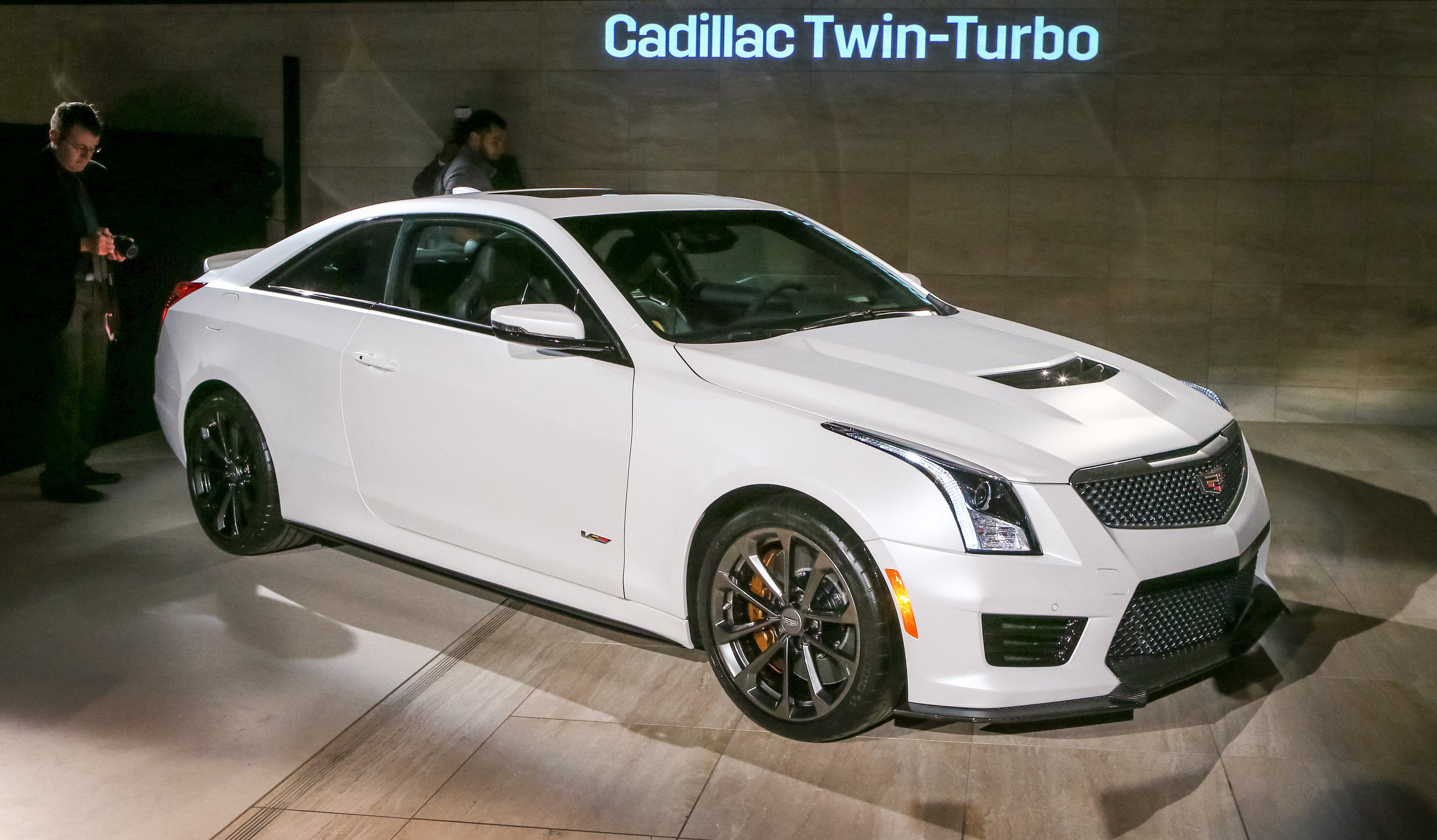 Cadillac Ats V Unveiled In Los Angeles