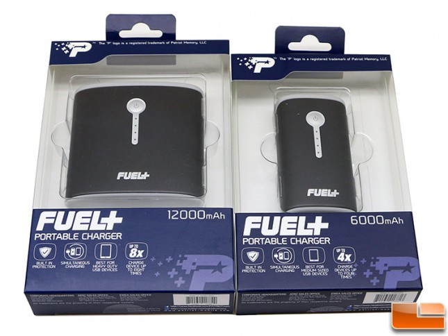 Patriot Fuel+ USB Battery Packs