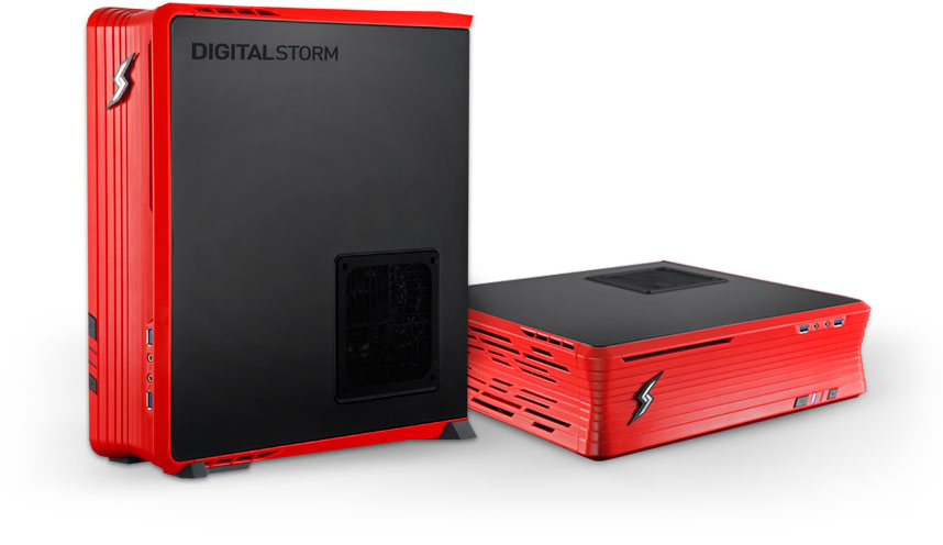 Digital Storm Eclipse SFF Gaming PC Unveiled - Slim Gaming