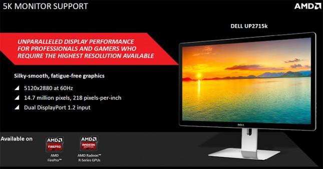 AMD 5K Display Support