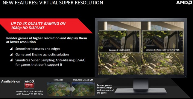 AMD Visual Super Resolution